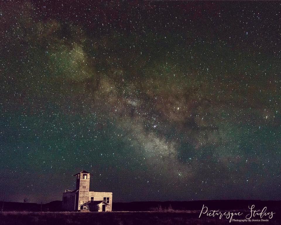 Milky Way near Glendive