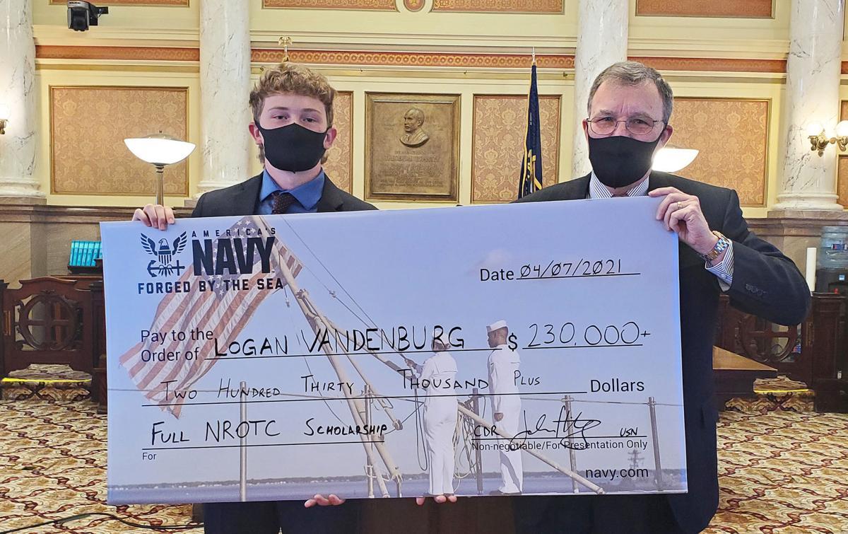 Hamilton student receives US NAVY ROTC scholarship