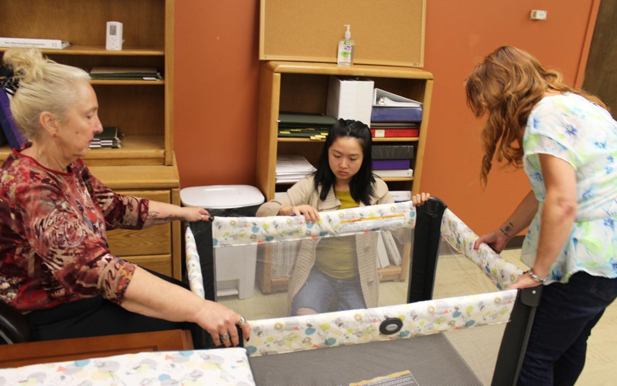 RCPH program 'Back to Safe Sleep' offers free cribs