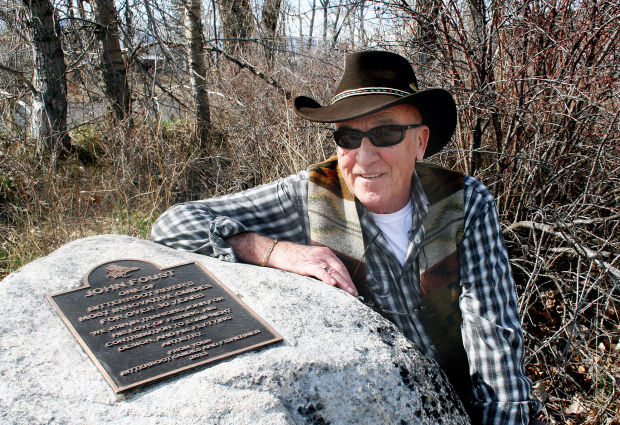 Fishing legend: Local man honored with plaque along Bitterroot River