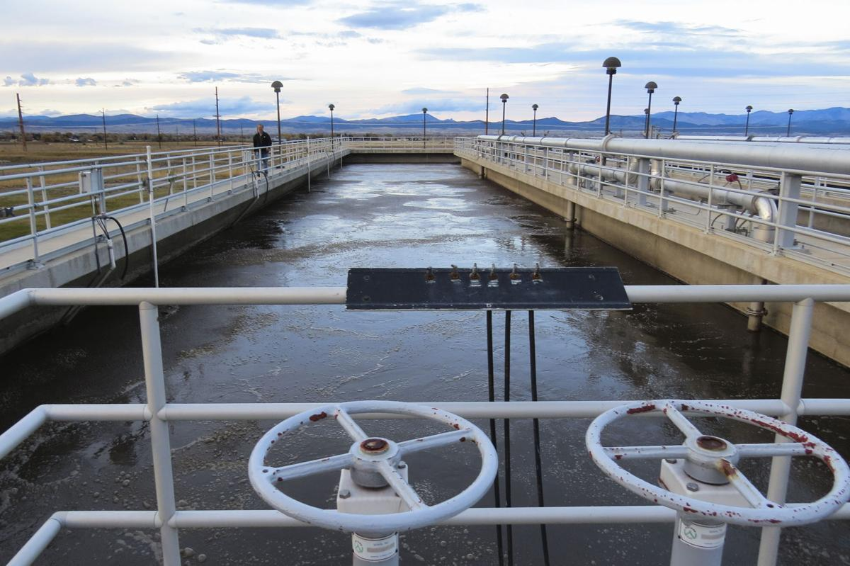 Staff image of Helena's wastewater treatment facility