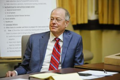 Senate Majority Leader Fred Thomas (R-Stevensville)
