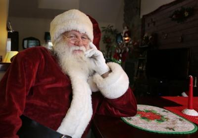 Professional Santa: Florence man discusses second career as jolly old St. Nick
