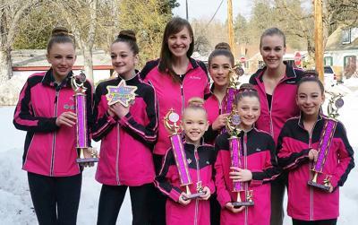 Ballet Bitterroot Dance competition team