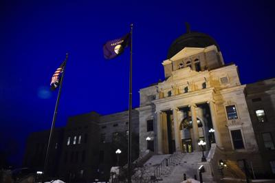The Montana State Capitol in Helena.