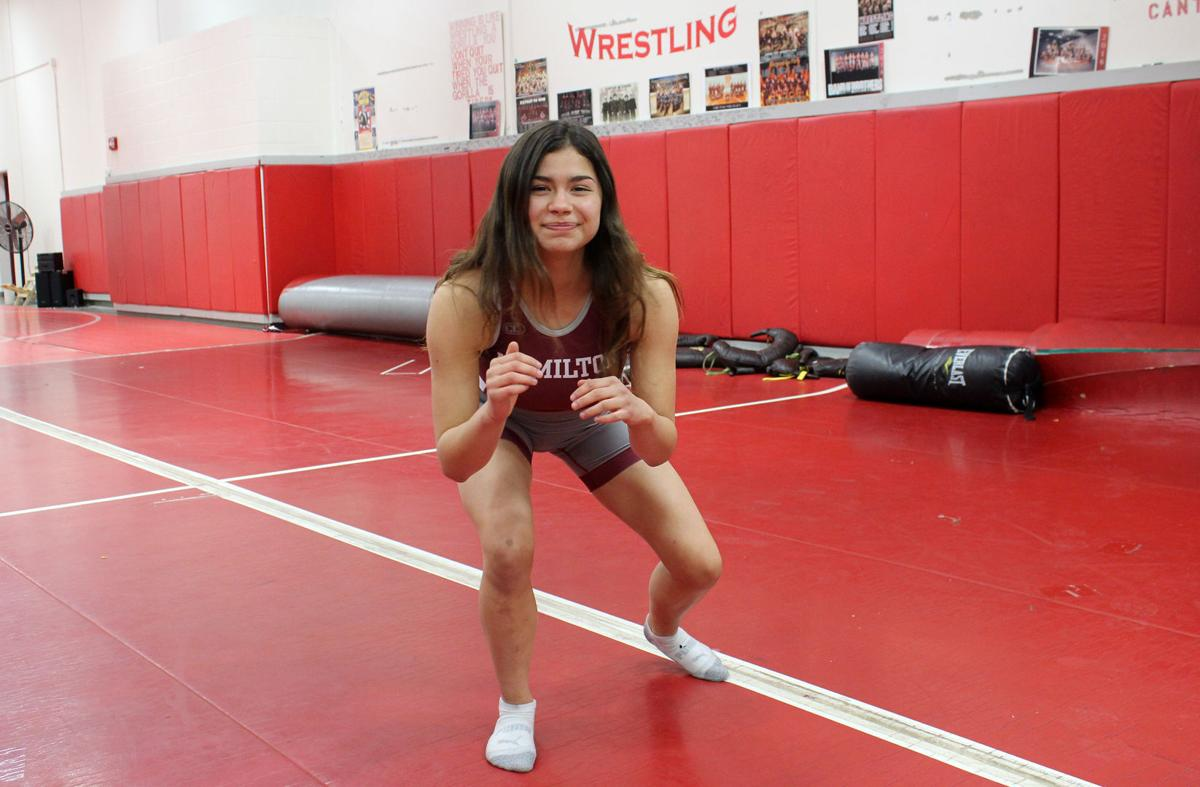 HHS girl wrestler ranked #1 in 120-weight class for Montana