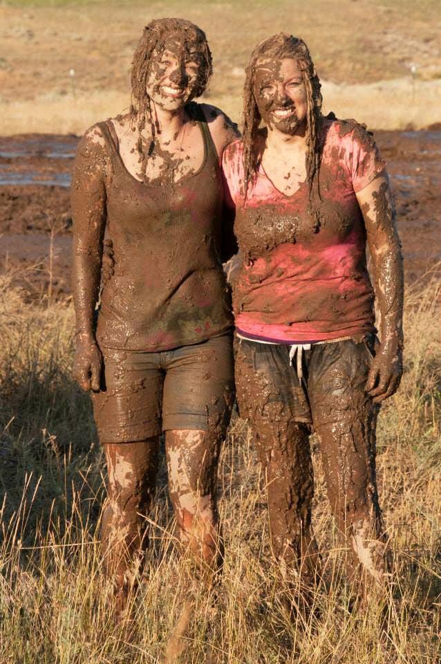 Mud girls