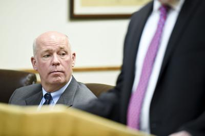 Republican congressman-elect Greg Gianforte appears in court Monday morning on an assault charge