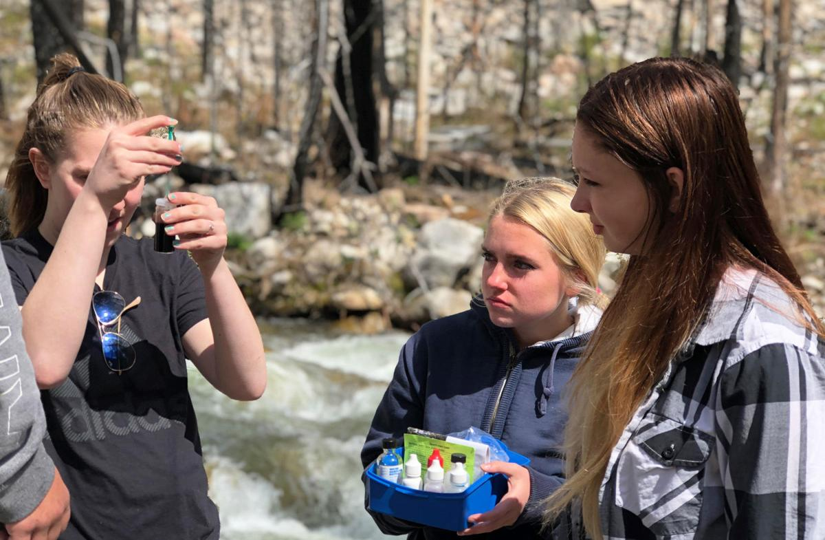 CHS Ecology water test