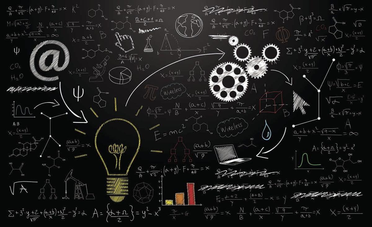 idea, blackboard