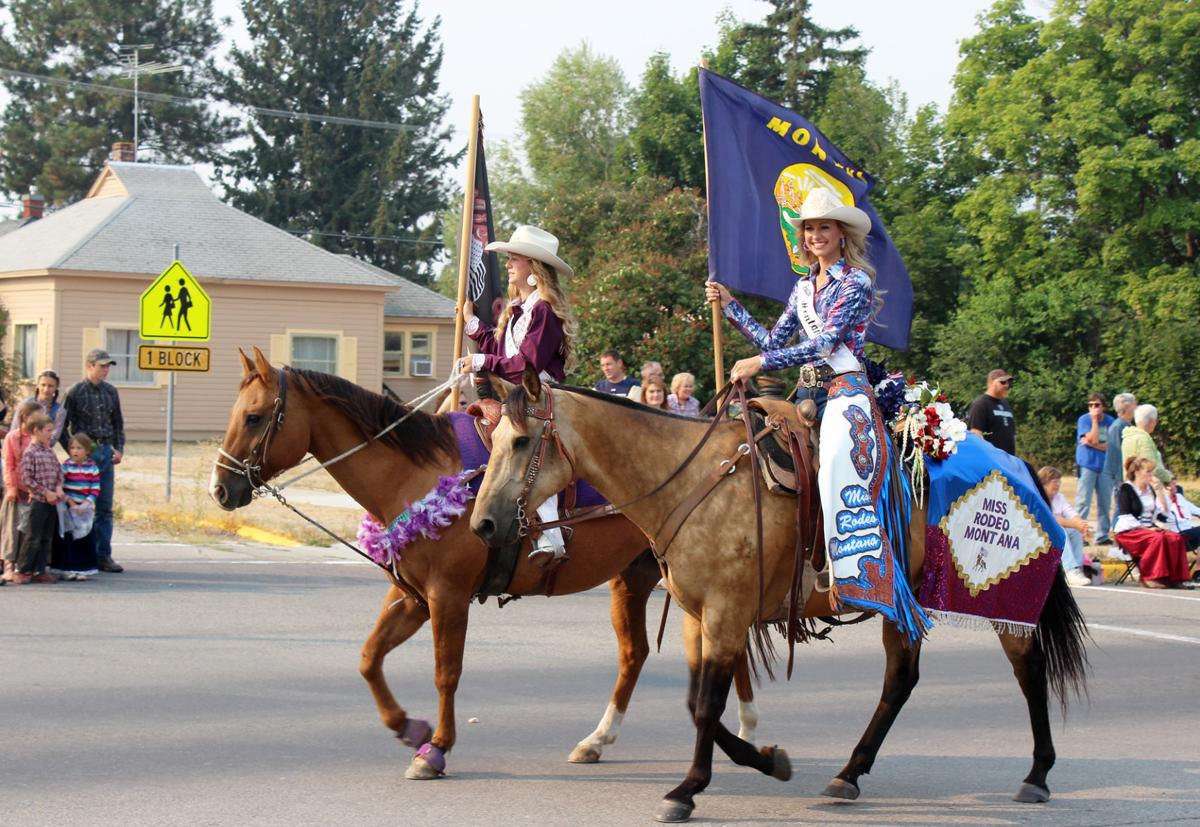 Rodeo Queens Miss Ravalli County Rodeo Pageant Friday