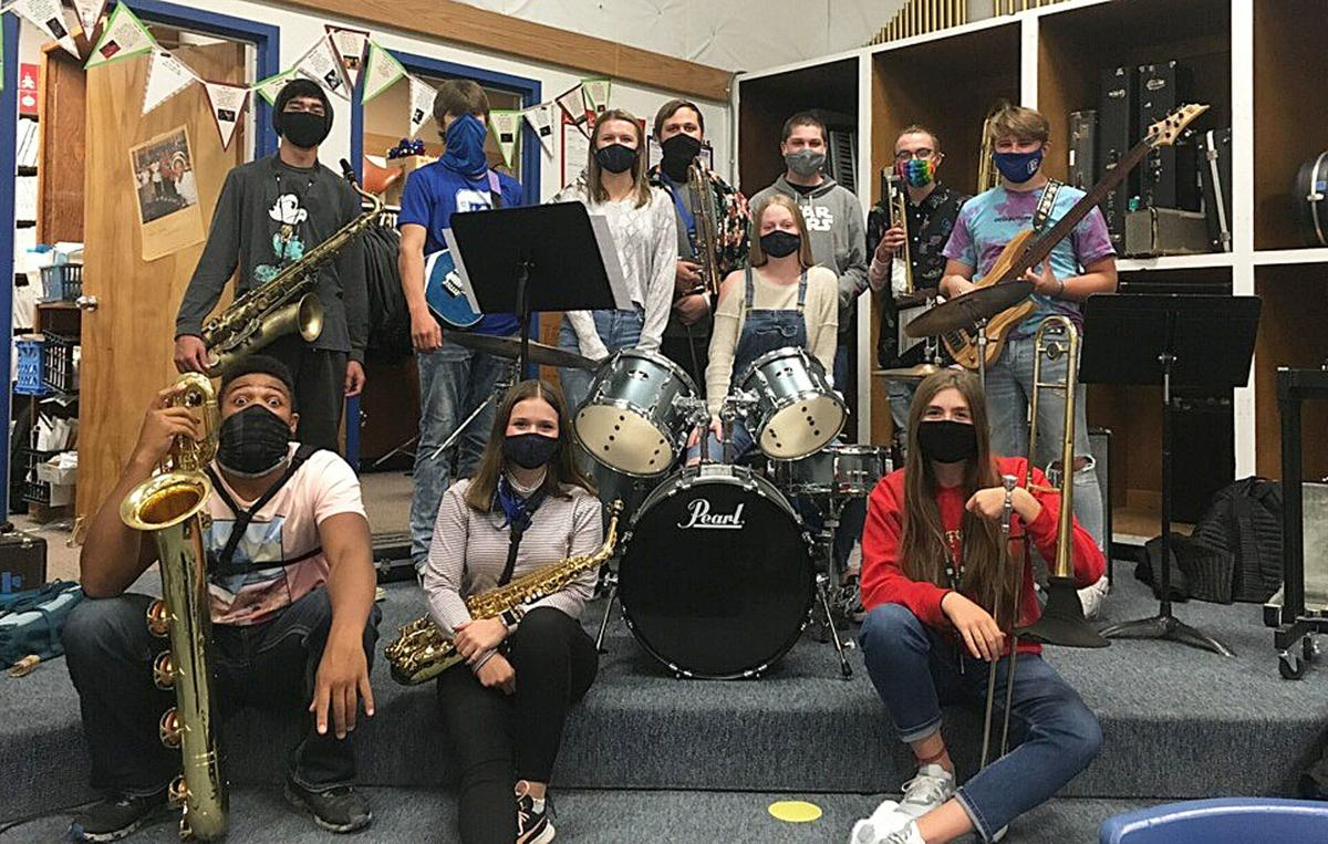 CHS Band in Masks