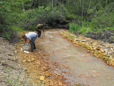 Zortman-Landusky mine pollution monitoring