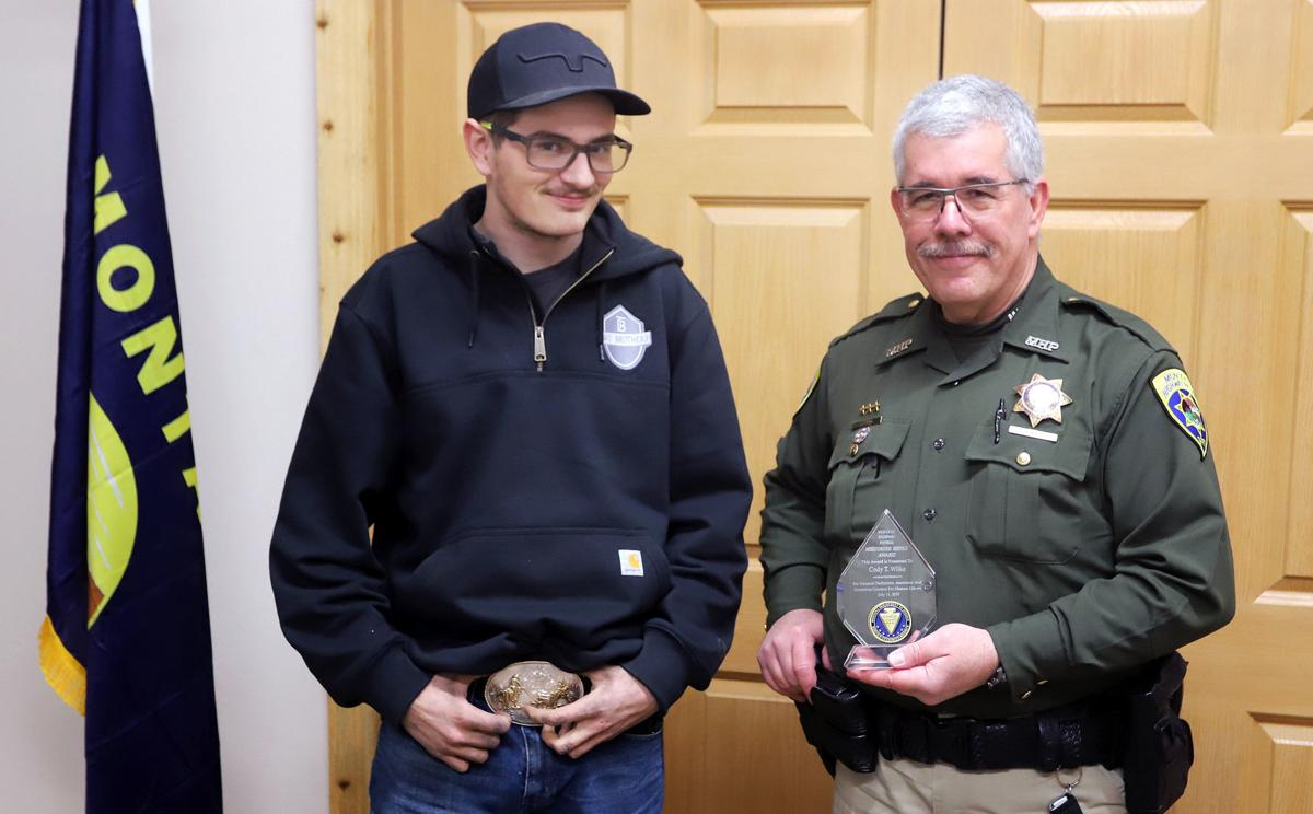 Hamilton teen awarded Highway Patrol's Colonel's Citation for Meritorious Service