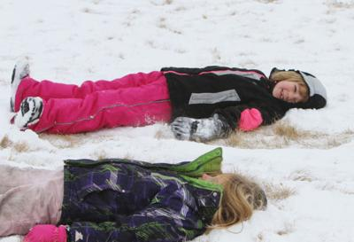 Feature photo: Snow angels