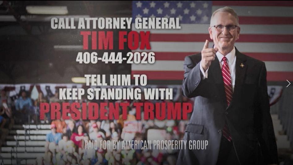 American Prosperity Group ad