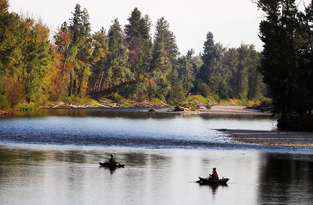 Stevensville fishing access