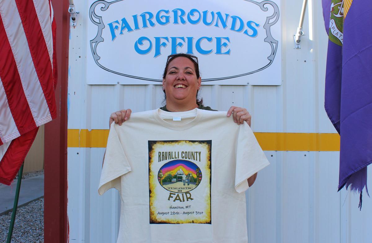Fair Melissa and t-shirt
