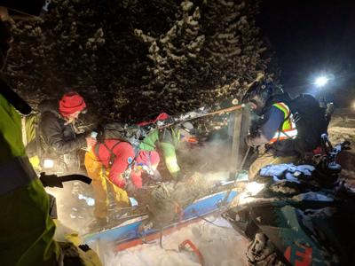 Search and Rescue in Spanish Peaks