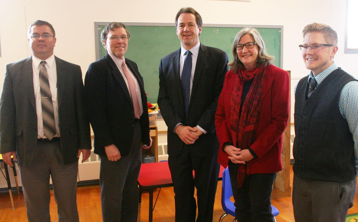 Governor pushes Early Edge program in Hamilton visit