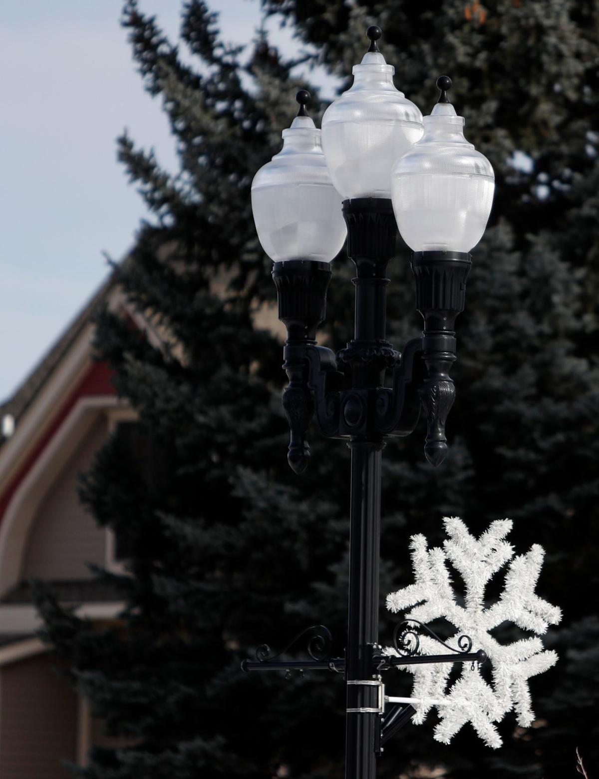 New LED street lights