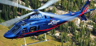 Life Flight Network helicopter