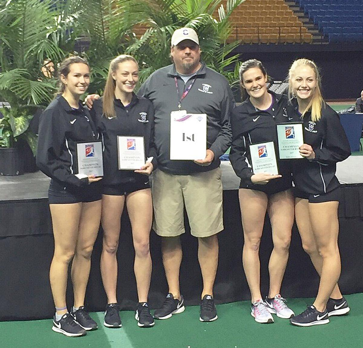 Darby Grad national champion team and coach