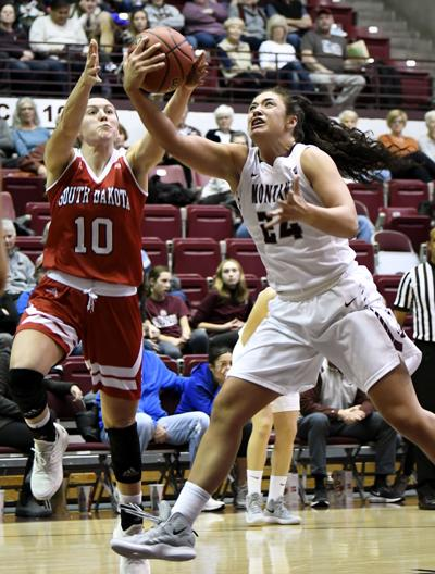 Lady Griz vs South Dakota 1