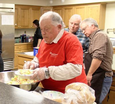 Community Meals volunteers