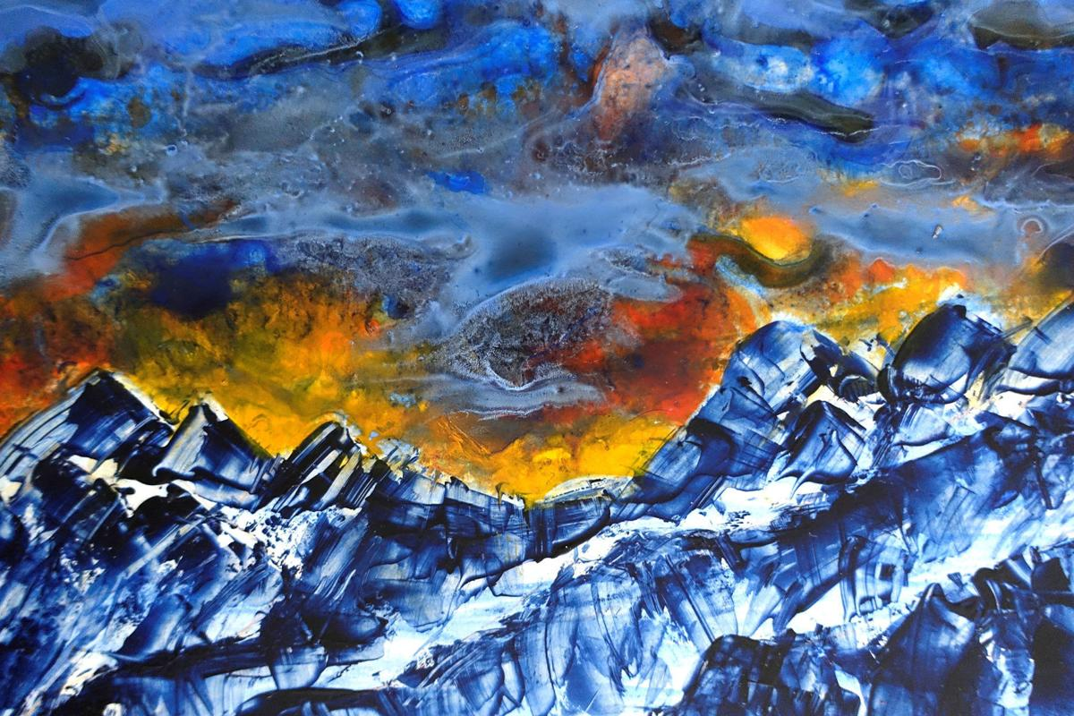 Stevensville artist uses intentional creativity and earth prayers