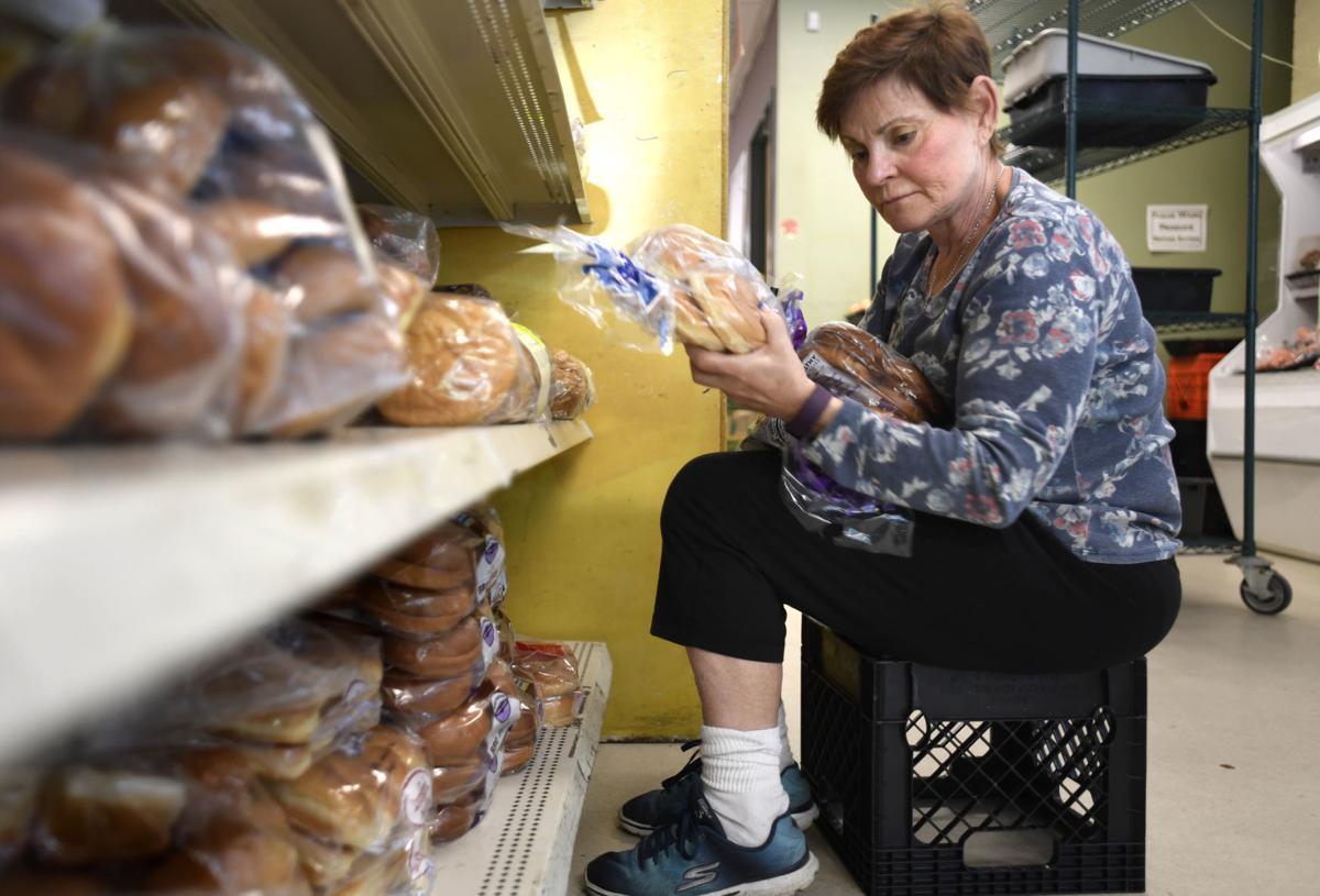 Missoula Food Bank volunteer Phyllis Wight