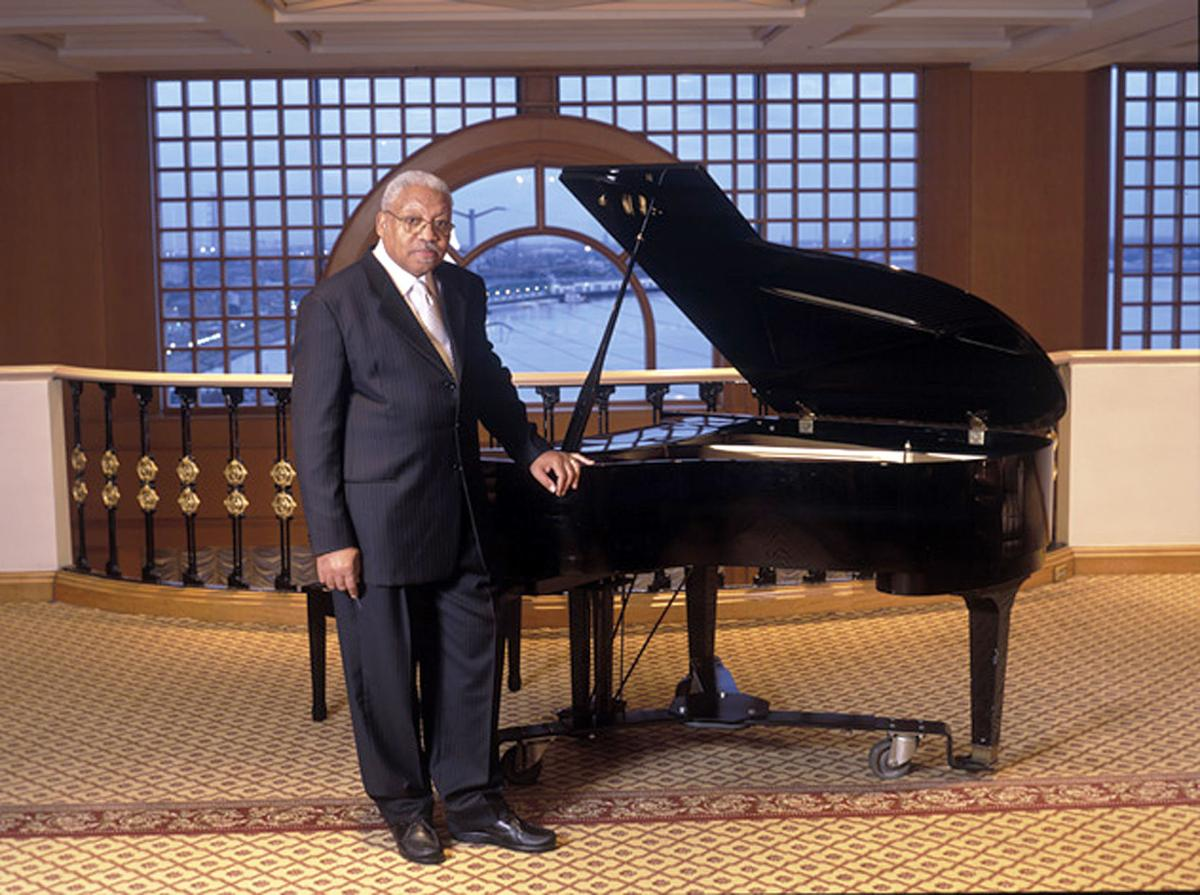 BPAC Ellis Marsalis and piano