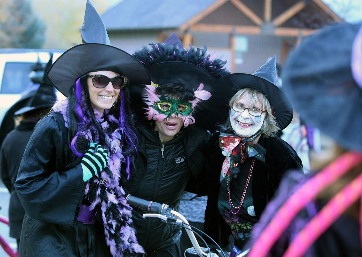 Feature photo: Witches Bike Brigade descends on Hamilton