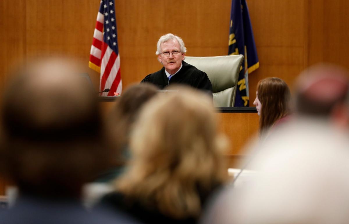 Yellowstone County District Judge Donald Harris