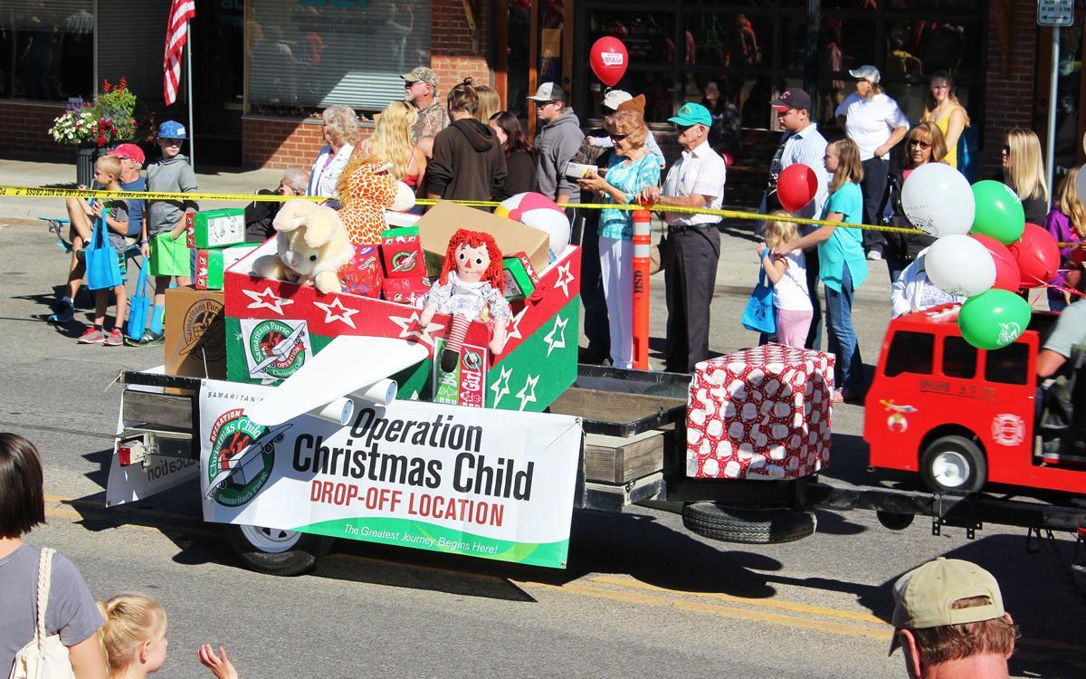 Operation Christmas Child Shoebox.Operation Christmas Child Shoebox Collection Approaching