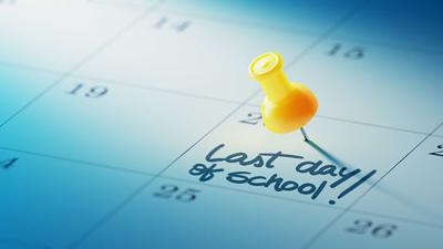 Last day of school, stock