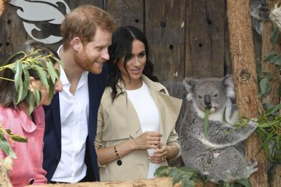 APTOPIX Australia Royals Photo Gallery