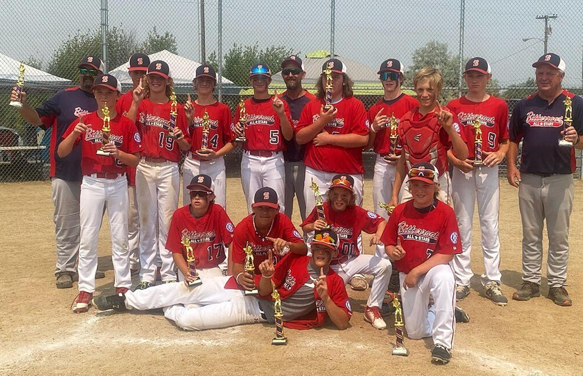 The 13u Bitterroot All-Stars win the state championship