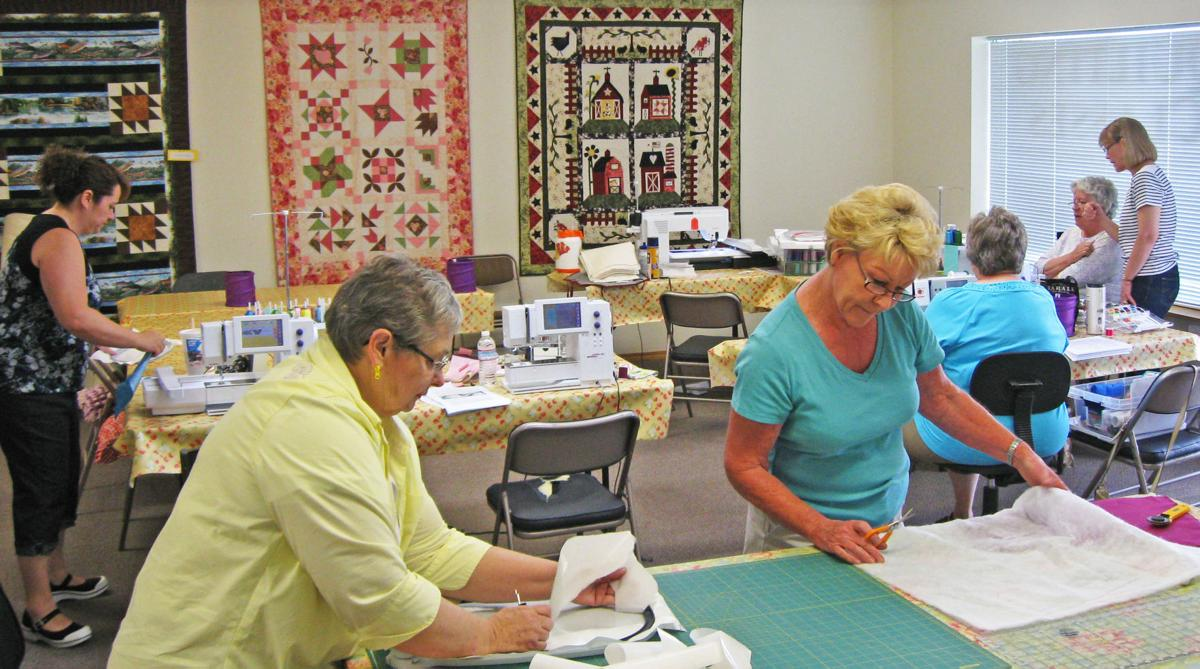 Patchwork: Hamilton quilt store offers supplies, classes and a friendly smile