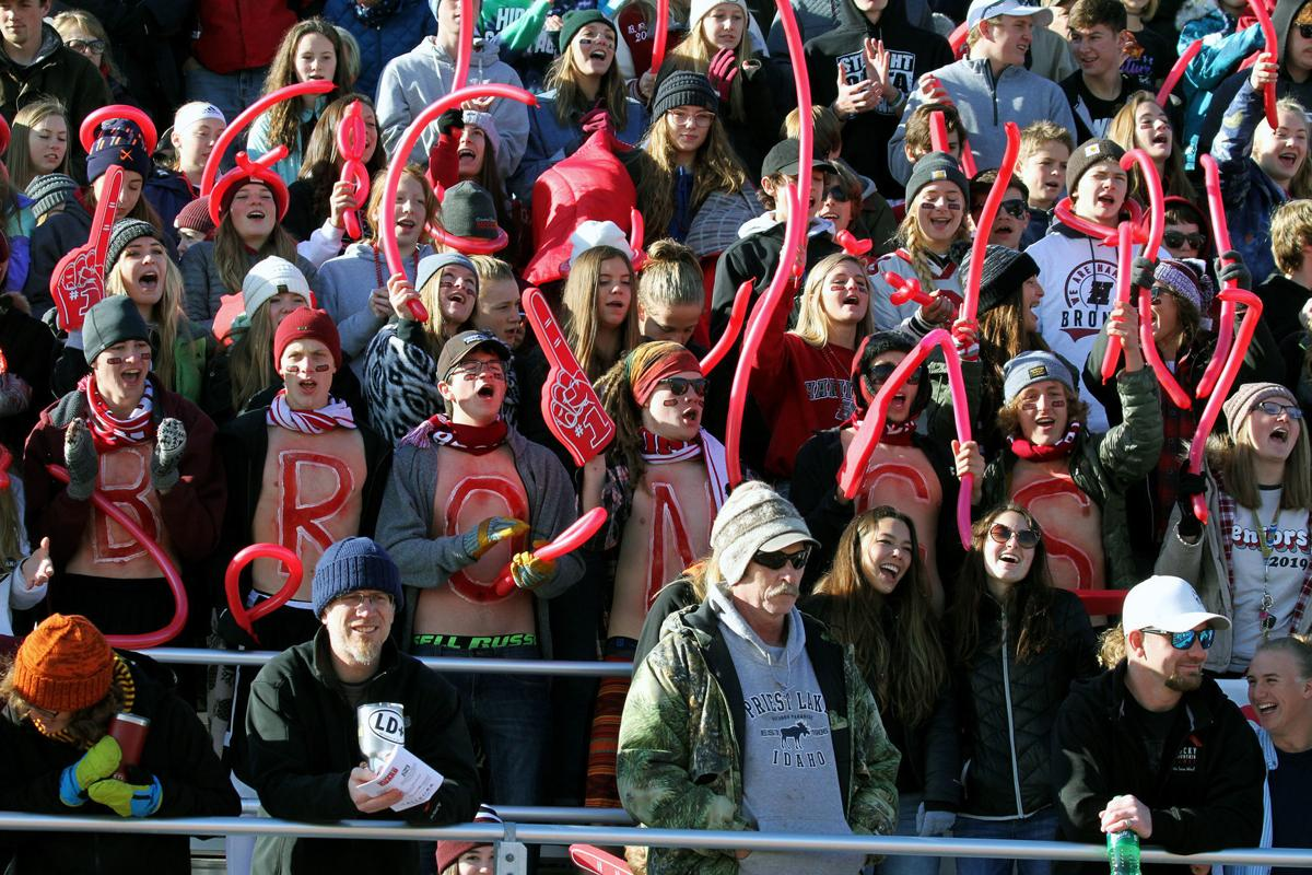 Fans filled the stadium for state championship