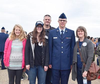 Leopold family celebrates son's graduation from Air Force