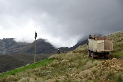 Ravalli Electric employees volunteer to bring light to remote village in South America