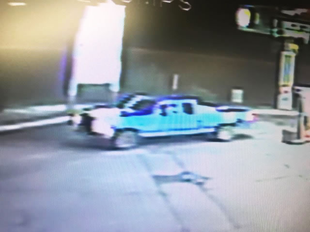 Suspect truck