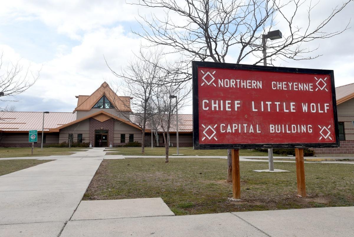 Northern Cheyenne Chief Little Wolf Capital Building.