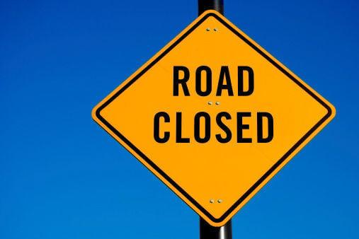 Road Closed, stock 115918274
