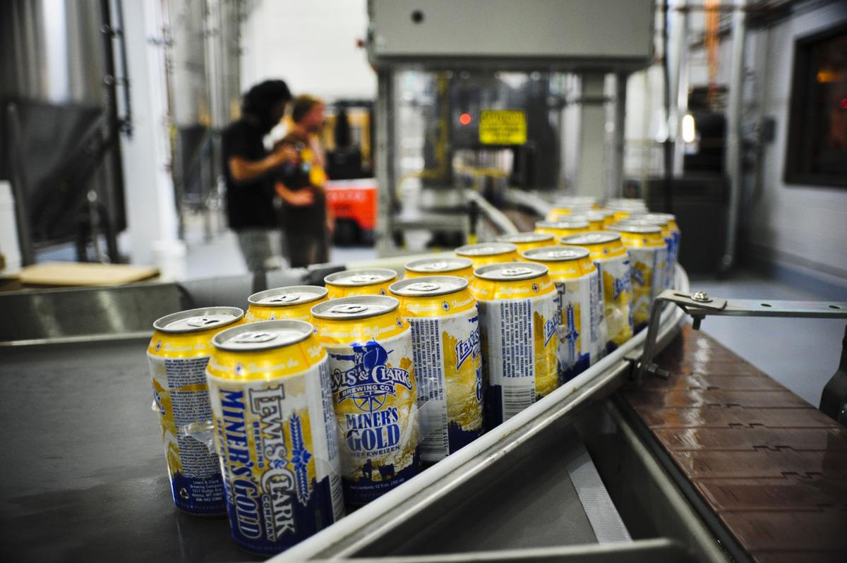 Cans of Miner's Gold
