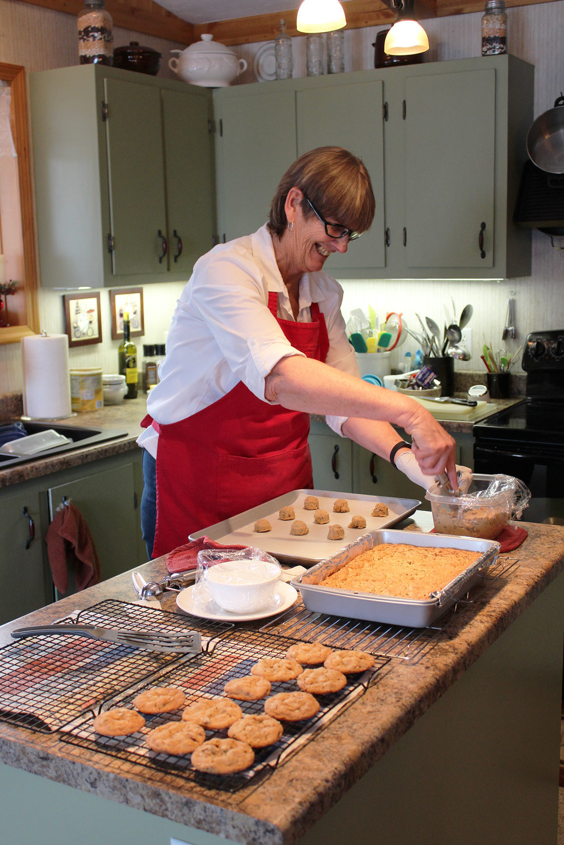 BRHA Mary Gehl baking