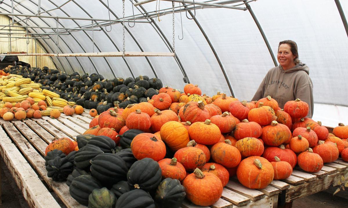Moeller's pumpkins and squash