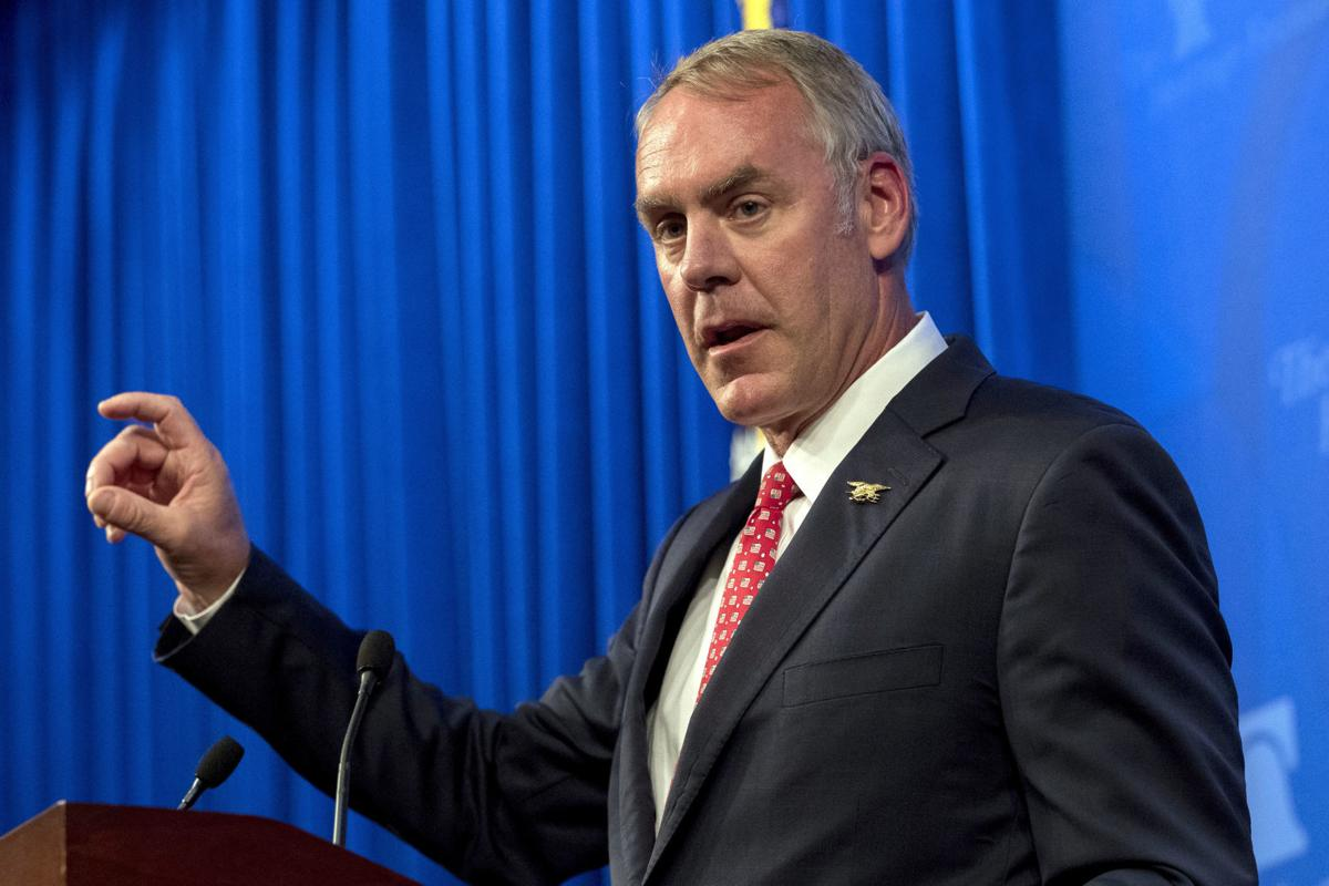 Interior Secretary Ryan Zinke