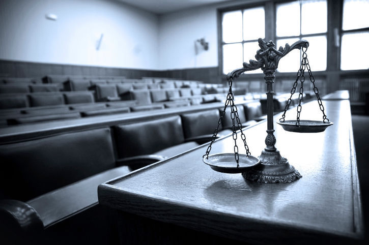 law courtroom jury justice stockimage